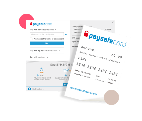 Paysafecard Buy Online